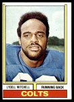 1974 Topps #69  Lydell Mitchell  Front Thumbnail