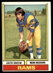1974 Topps #83 ONE Jack Snow  Front Thumbnail