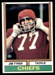 1974 Topps #85  Jim Tyrer  Front Thumbnail