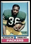1974 Topps #90 ONE MacArthur Lane  Front Thumbnail