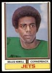 1974 Topps #100  Delles Howell  Front Thumbnail