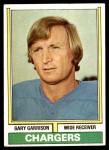 1974 Topps #101 ONE Gary Garrison  Front Thumbnail
