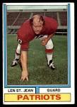 1974 Topps #103 ONE Len St. Jean  Front Thumbnail
