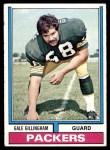 1974 Topps #115  Gale Gillingham  Front Thumbnail
