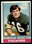 1974 Topps #31  Scott Hunter  Front Thumbnail