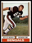 1974 Topps #114  Royce Berry  Front Thumbnail