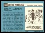 1964 Topps #56  John Nocera  Back Thumbnail