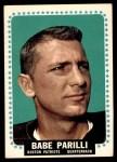 1964 Topps #17  Babe Parilli  Front Thumbnail