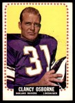 1964 Topps #149  Clancy Osborne  Front Thumbnail