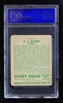 1933 Goudey Sport Kings #9  Ed Blood   Back Thumbnail