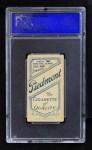 1909 T206 POR Cy Seymour  Back Thumbnail