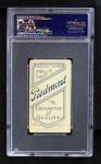 1909 T206 BAT George Mullin  Back Thumbnail