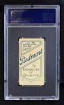 1909 T206 WAS Germany Schaefer  Back Thumbnail