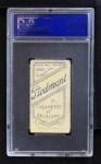 1909 T206 BAT Mickey Doolan  Back Thumbnail