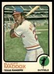 1973 Topps #658  Elliott Maddox  Front Thumbnail