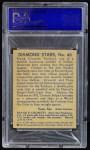 1935 Diamond Stars #86  Frank Crosetti   Back Thumbnail