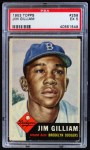 1953 Topps #258  Jim Gilliam  Front Thumbnail