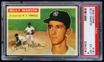 1956 Topps #181  Billy Martin  Front Thumbnail