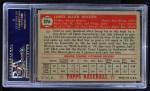1952 Topps #276  Jimmy Wilson  Back Thumbnail