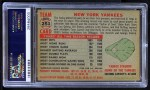1956 Topps #251   Yankees Team Back Thumbnail