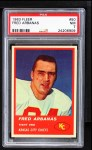 1963 Fleer #50  Fred Arbanas  Front Thumbnail