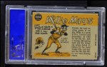 1960 Topps #564   -  Willie Mays All-Star Back Thumbnail