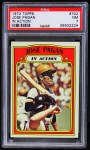 1972 Topps #702   -  Jose Pagan In Action Front Thumbnail