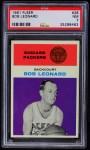 1961 Fleer #28  Bob Leonard  Front Thumbnail