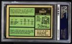 1971 O-Pee-Chee #137  Joe Daley  Back Thumbnail
