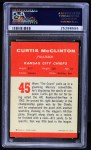 1963 Fleer #45  Curtis McClinton  Back Thumbnail