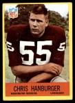 1967 Philadelphia #183  Chris Hanburger  Front Thumbnail
