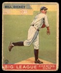 1933 Goudey #19  Bill Dickey  Front Thumbnail