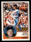 1983 Topps #181  Terry Felton  Front Thumbnail