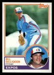1983 Topps #31  Bill Gullickson  Front Thumbnail