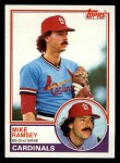 1983 Topps #128  Mike Ramsey  Front Thumbnail