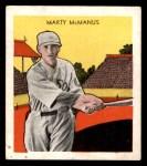 1933 Tattoo Orbit R305 #47  Marty McManus   Front Thumbnail
