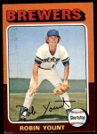 1975 Topps #223  Robin Yount  Front Thumbnail