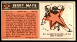 1965 Topps #106  Jerry Mays  Back Thumbnail