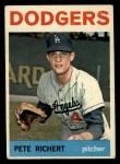 1964 Topps #51  Pete Richert  Front Thumbnail