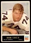 1965 Philadelphia #47  Bob Lilly  Front Thumbnail
