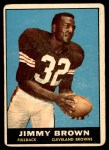 1961 Topps #71  Jim Brown  Front Thumbnail
