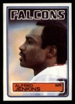1983 Topps #19  Alfred Jenkins  Front Thumbnail