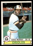 1979 O-Pee-Chee #338  Eddie Murray  Front Thumbnail