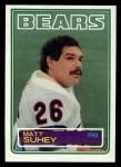 1983 Topps #39  Matt Suhey  Front Thumbnail