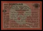 1983 Topps #45  Pat Donovan  Back Thumbnail