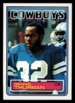 1983 Topps #54  Dennis Thurman  Front Thumbnail