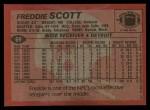 1983 Topps #69  Freddie Scott  Back Thumbnail