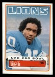 1983 Topps #70  Billy Sims  Front Thumbnail