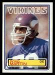 1983 Topps #103  Doug Martin  Front Thumbnail