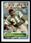 1983 Topps #144  Wilbert Montgomery  Front Thumbnail